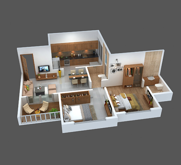 Radiation India Offers 2BHK